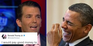 Anakin Trump vs. Obama Wan
