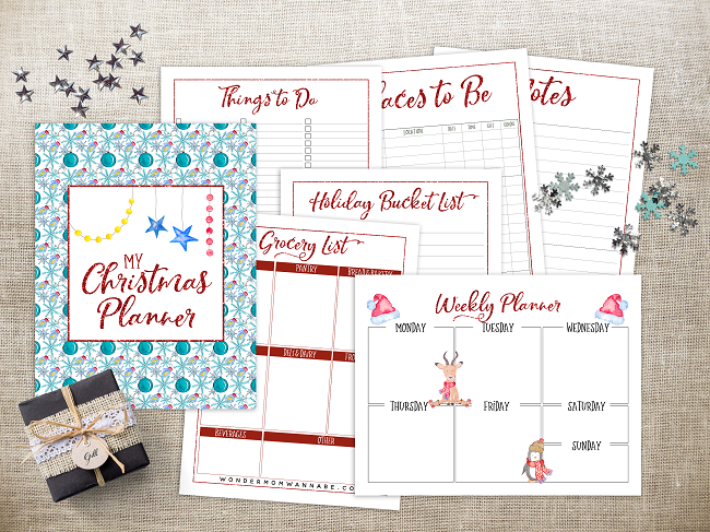 get your free christmas planner