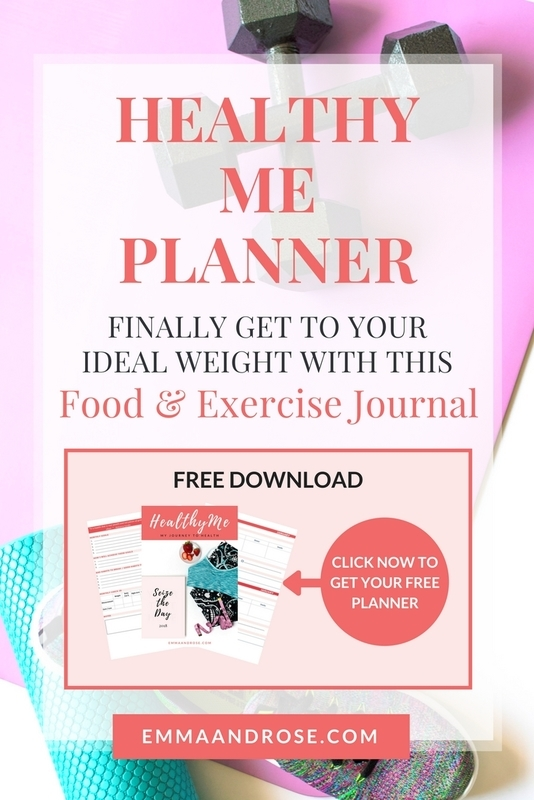 Healthy Me Planner