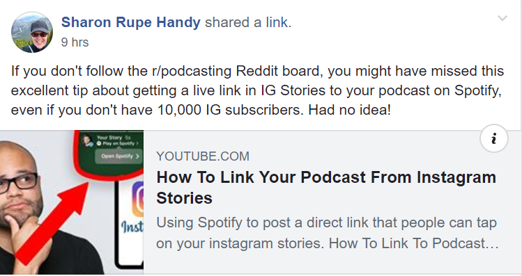 How To Link Your Podcast From Instagram Stories