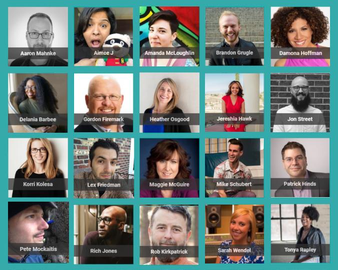 Podcast Movement Speakers
