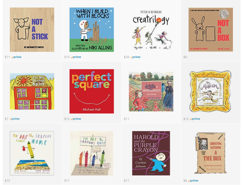 picture books about art and creativity