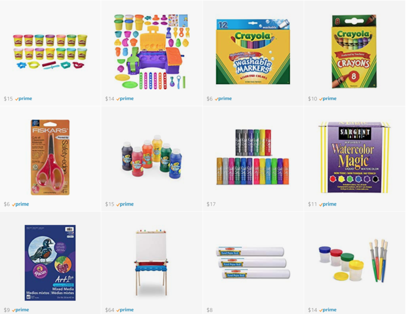 favorite preschool art supplies
