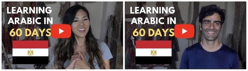 Learning to speak Arabic in 60 Days