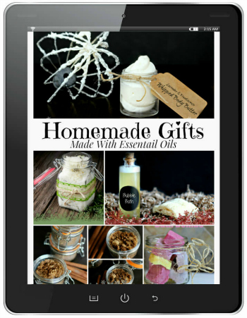 Homemade Natural Beauty Products Book