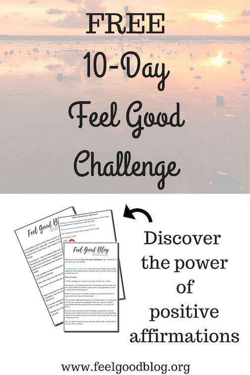 Join the 10-Day Feel Good Challenge