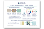 Color and pattern cheat sheet thumbnail
