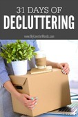 31 days of decluttering 200x300