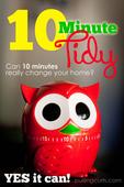 10 minute tidy
