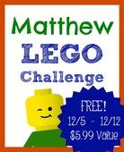 Matthew lego challenge