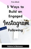 Cover 5 ways to build an engaged instagram following