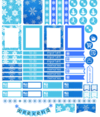 Snowflake stickers image