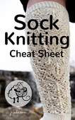 Sock design cheat sheet cover