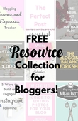 Free resource collection for bloggers
