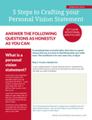 Vision statement workbook   cover