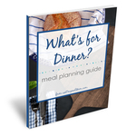 Meal planner book cover
