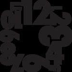 Clock numbers 01