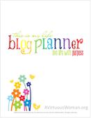 Free blog planner 400