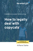 The artists jd how to legally deal with copycats page 1