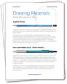 Drawing materials guide cover 485x600