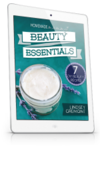 Beauty essentials mini ipad left
