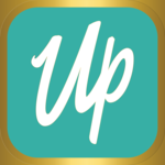 Uplifted app icon teal gold ios 01
