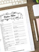 Black wedding binder 2