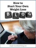 Start a weight loss blog