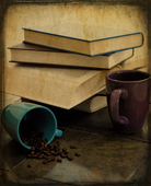 Books and coffee copy
