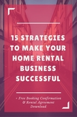 Pin 15 strategies to make your home rental business successful