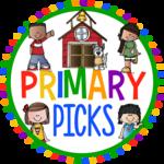 Primary picks logo button