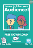 Learn to like your audience