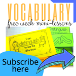 Free week vocab subscribe here