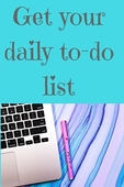 Your daily to do list %282%29