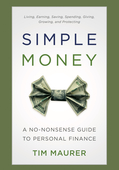 Simple money front cover