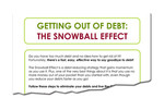 Debt snowball effect