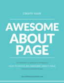 Create your awesome about page
