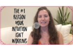 1 reason your intuition isn't working   video mockup with play arrow