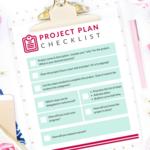 Project plan checklist sq