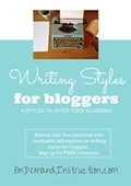 Writing styles for bloggers cover thumbnail
