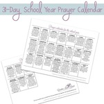 Prayer calendar square