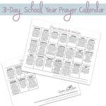 Prayer calendar square