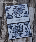 Floral phrases card class free card 1