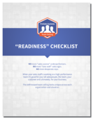 Team selling readiness checklist cover