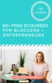 60 free ecourses for bloggers