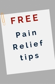 Pain relief health tips graphic pinterest