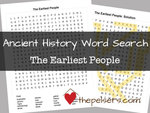 Word search sotw ch 1 the earliest people