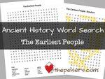 Word search sotw ch 1 the earliest people