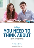 7 things you need to think about before getting a tutor