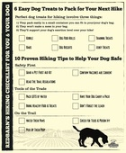 Redbarn hiking checklist
